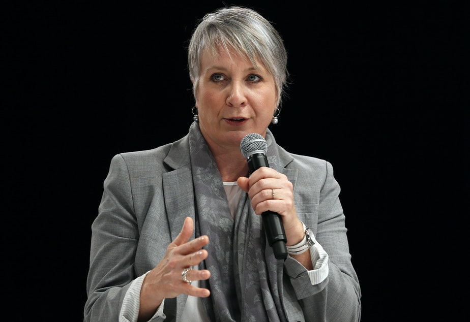 caption: Canadian Minister of Health Patty Hajdu, pictured in 2016, announced a new rule in response to a U.S. plan to import drugs from Canada.