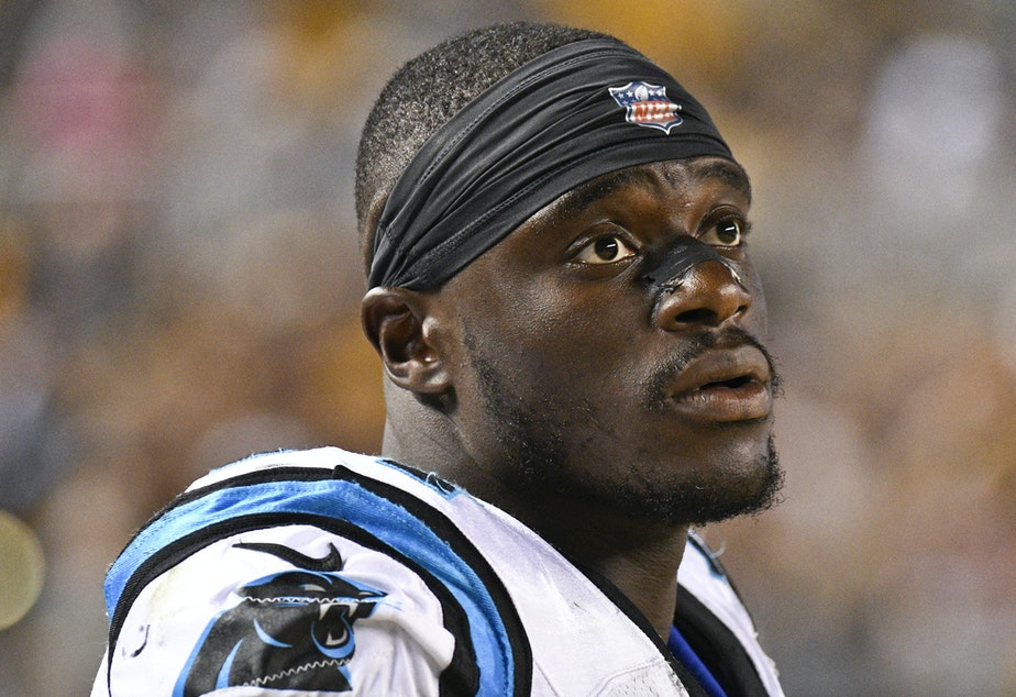 Defensive end Efe Obada has made the cut onto the Carolina Panthers' roster.