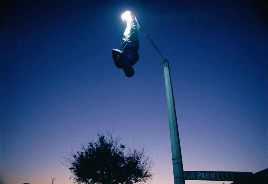 caption: Kahlil Joseph. Streetlight, 2014. Motion picture still.