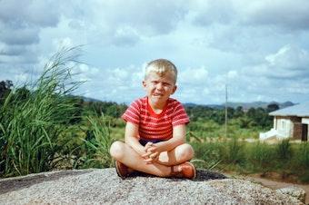 Steve Konz as a child in Nigeria.