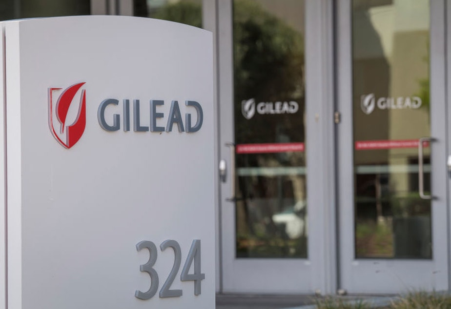 caption: After the Food and Drug Administration granted Gilead Sciences orphan drug status for its experimental drug remdesivir on Tuesday, Gilead asked that the agency rescind that status Wednesday.