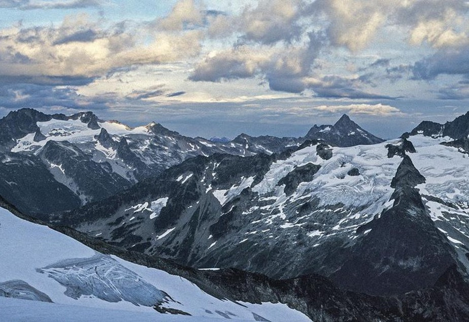 A view of the North Cascades view from Eldorado Peak. CREDIT: RICHARD DROKER/CREATIVE COMMONS/FLICKR