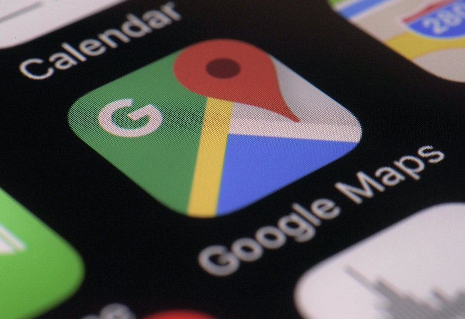 KUOW - Google Maps Leads About 100 Drivers Into A 'Muddy
