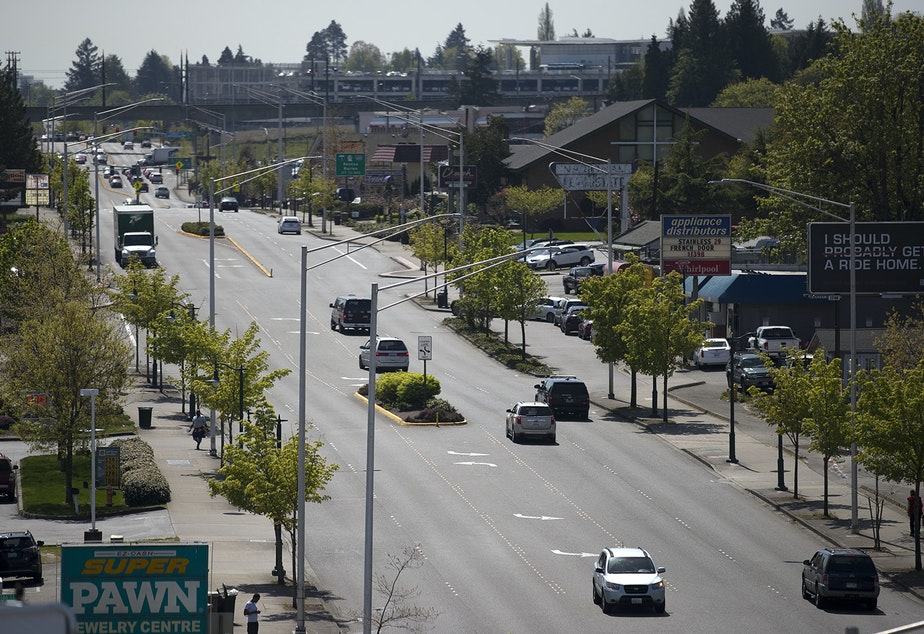 caption: Tukwila International Boulevard, which was once highway 99, is at the heart of our Tukwila reporting.