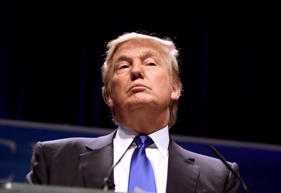 caption: Donald Trump.