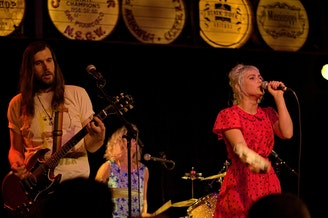 Seattle band Tacocat performs at Mississippi Studios in Portland, Oregon on July 17, 2015.