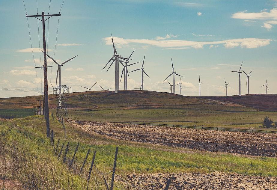A Klickitat Valley wind farm