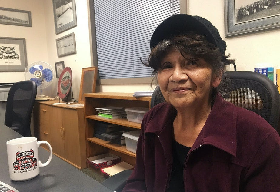 Doreen Maloney, general manager of the Upper Skagit Indian Tribe in Sedro-Woolley, Washington.
