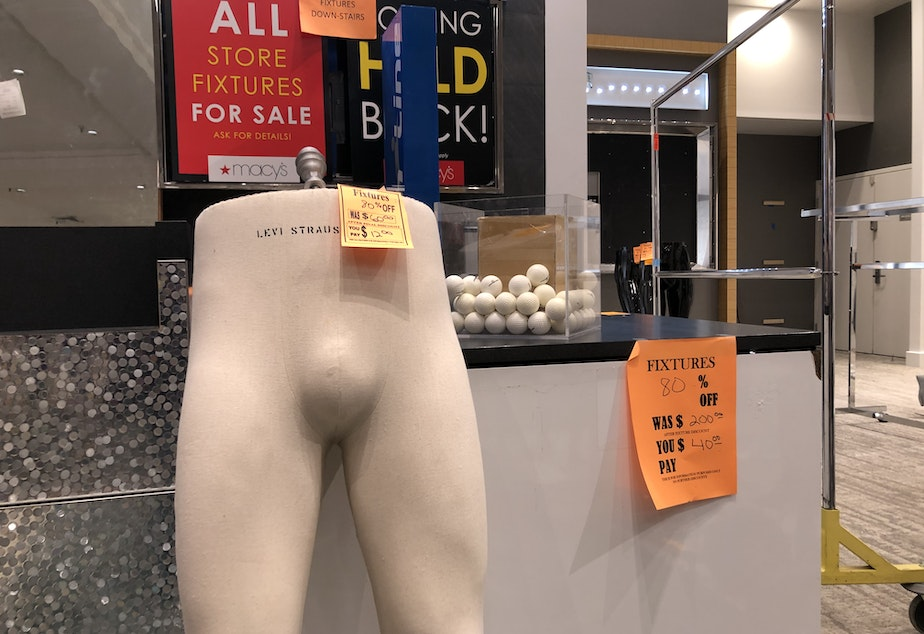 caption: There are no words for the horrors of the half-mannequin.