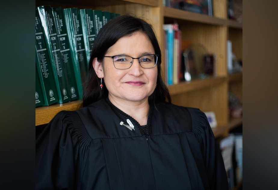caption: Washington State Supreme Court Justice Raquel Montoya-Lewis