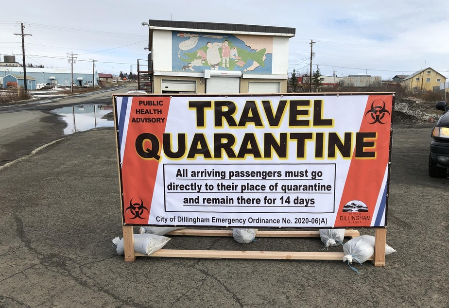 caption: The remote fishing port of Dillingham, Alaska, has imposed strict safety requirements on visitors in preparation for the annual deluge of out-of-state seafood workers.