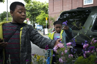 FILE: Matthew and Mariah Hicks attend Lowell Elementary School in 2017 in Seattle's Capitol Hill neighborhood, where they are just two of the school's many homeless students.