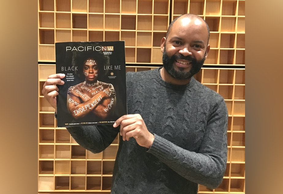Seattle Times writer Tyrone Beason has an essay about race in the Pacific Northwest Magazine.