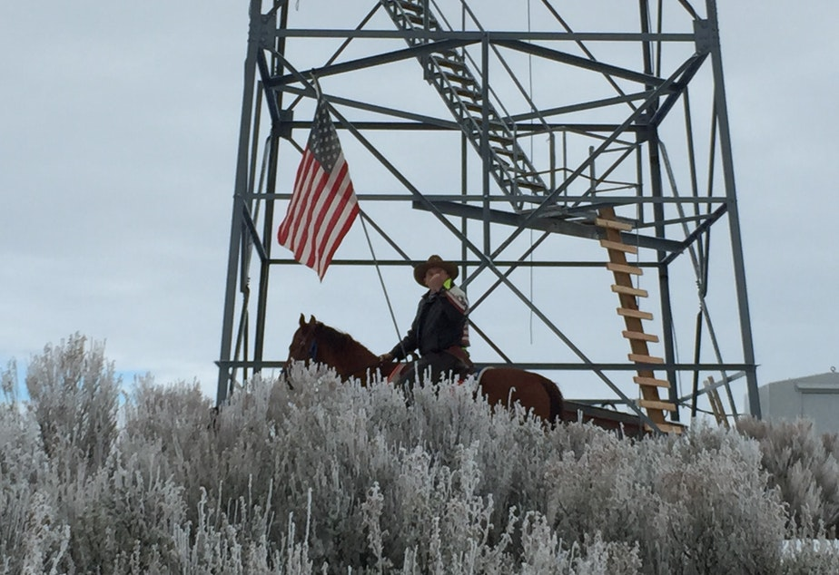 caption: In January 2016, armed militants led by Ammon Bundy, seized the Malheur National Wildlife Refuge in Oregon in an attempt to control US public lands.