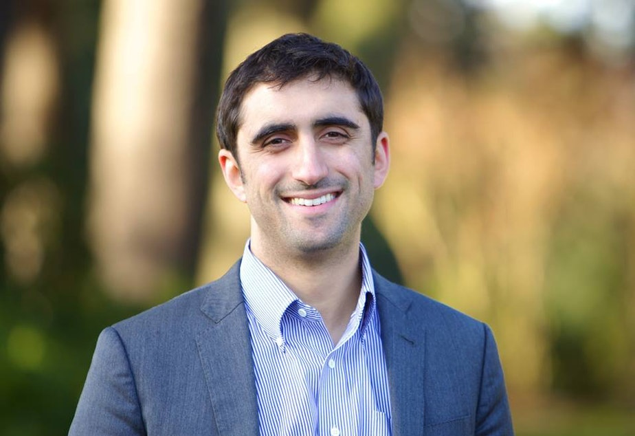 State Rep. Brady Walkinshaw is running for the 7th congressional district against State Sen. Pramila Jayapal.