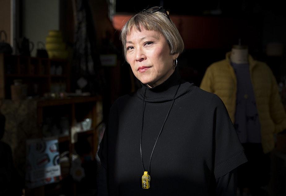 Lei Ann Shiramizu poses for a portrait on Thursday, February 21, 2019, at MoMo on South Jackson Street in Seattle.