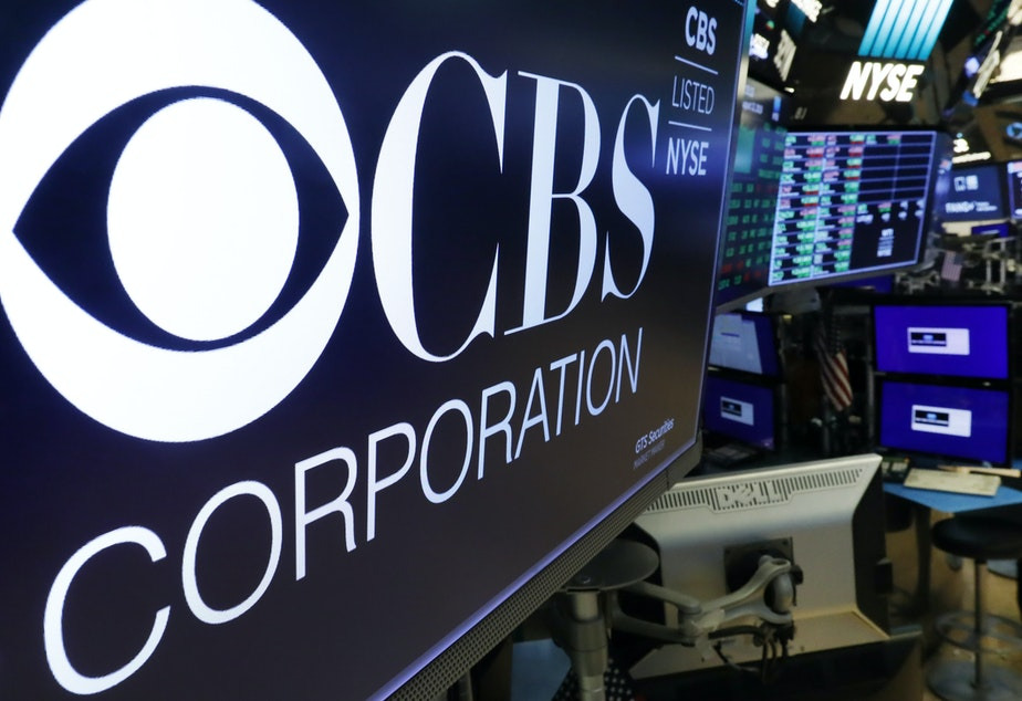 caption: CBS and Viacom said Tuesday they will reunite, bringing together their networks and the Paramount movie studio as traditional media giants bulk up to challenge streaming companies like Netflix.