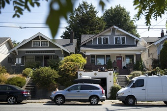 Houses in Seattle's Wallingford neighborhood, September 2017.