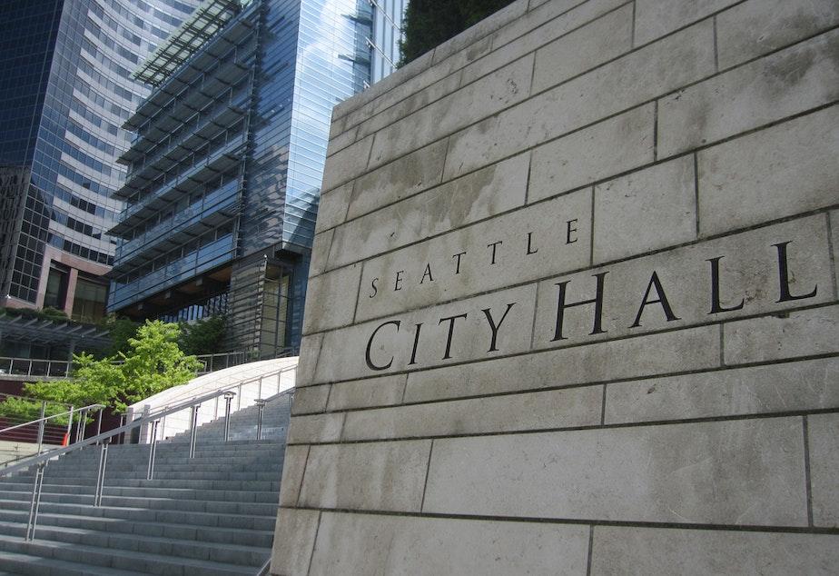 caption: Seattle City Hall