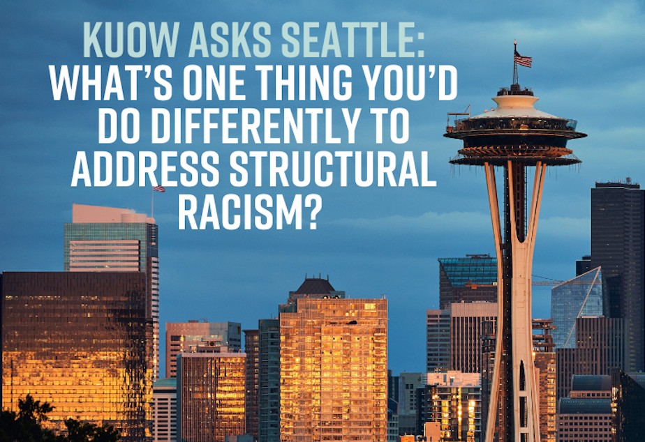 kuow asks structural racism