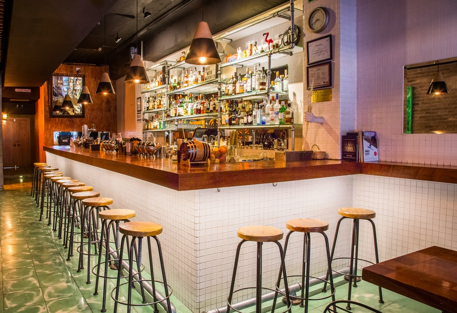 caption: Maverick, a bar in Mexico, sits empty amid the pandemic. Missing its patrons, it launched a website recreating different sounds from the bar experience. The idea ended up touching many around the world.