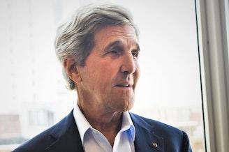 Former senator and Secretary of State John Kerry.