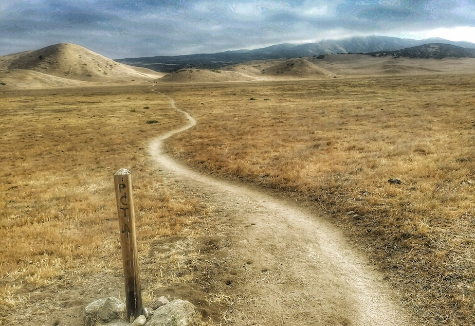 The Pacific Crest Trail through Southern California.