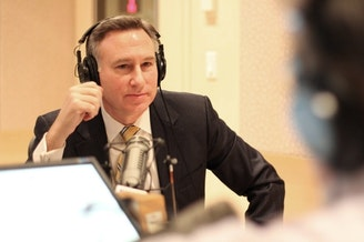 King County Executive Dow Constantine in the KUOW studios.