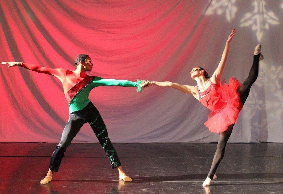 caption: Seattle City Nutcracker, a production of DASS Dance