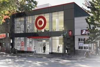 Target is building a tiny store in Seattle' s University District.