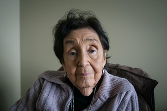 Lummi elder Ramona Morris has lived on the reservation near Bellingham, Wash., her whole life. To her, salmon is more than food: it's a way of life.