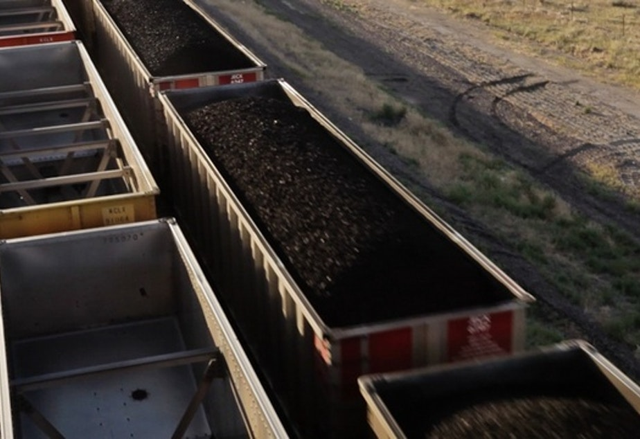 caption: Coal train