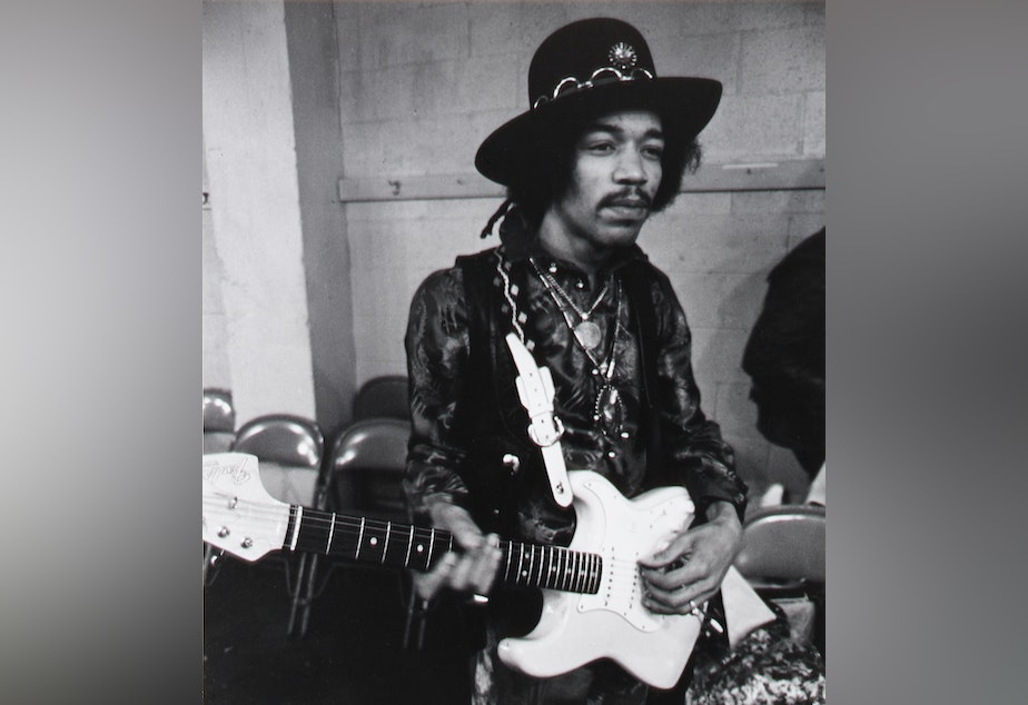 Jimi Hendrix in Seattle, February 12, 1968: from nobody to superstar
