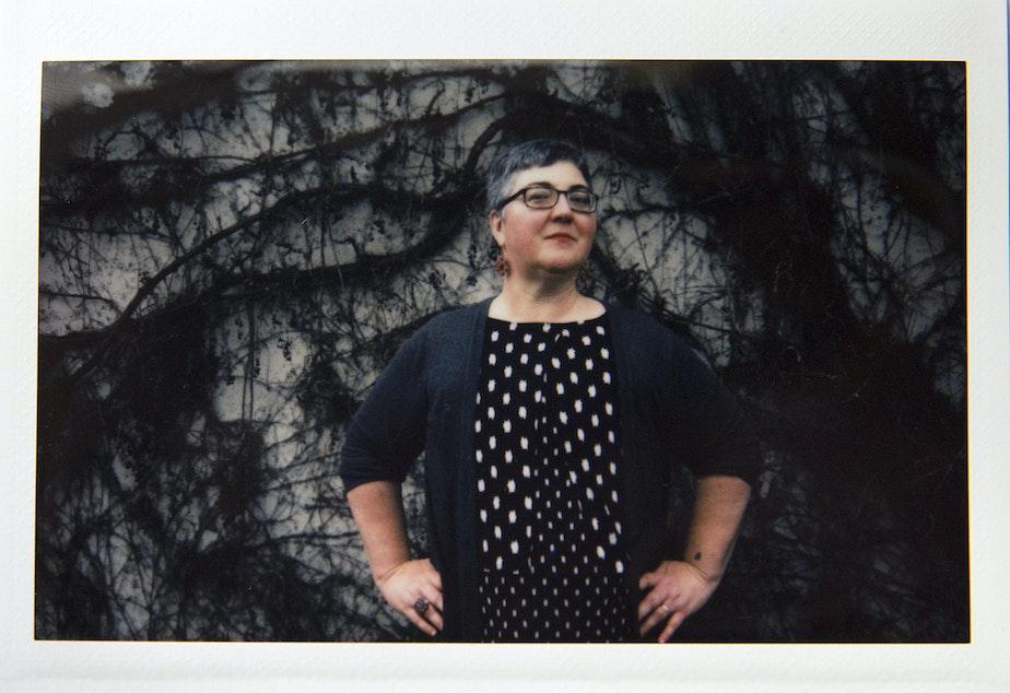 Shauna Ahern poses for a portrait on Thursday, January 24, 2019, on Vashon Island.
