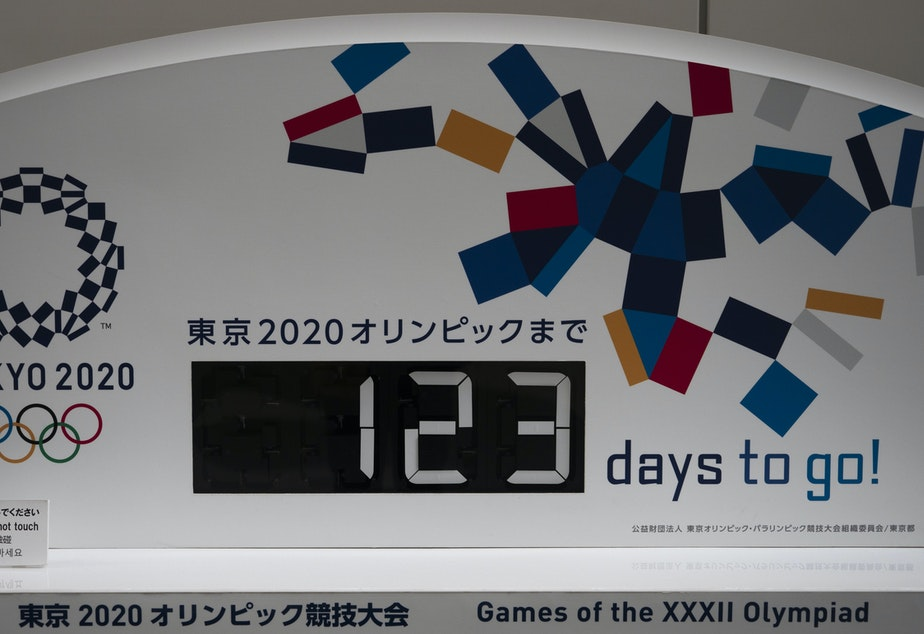 """caption: On Sunday, the International Olympic Committee said that it was starting to look into scenarios for """"modifying"""" the current plans for the games, which are scheduled to start on July 24 in Tokyo."""