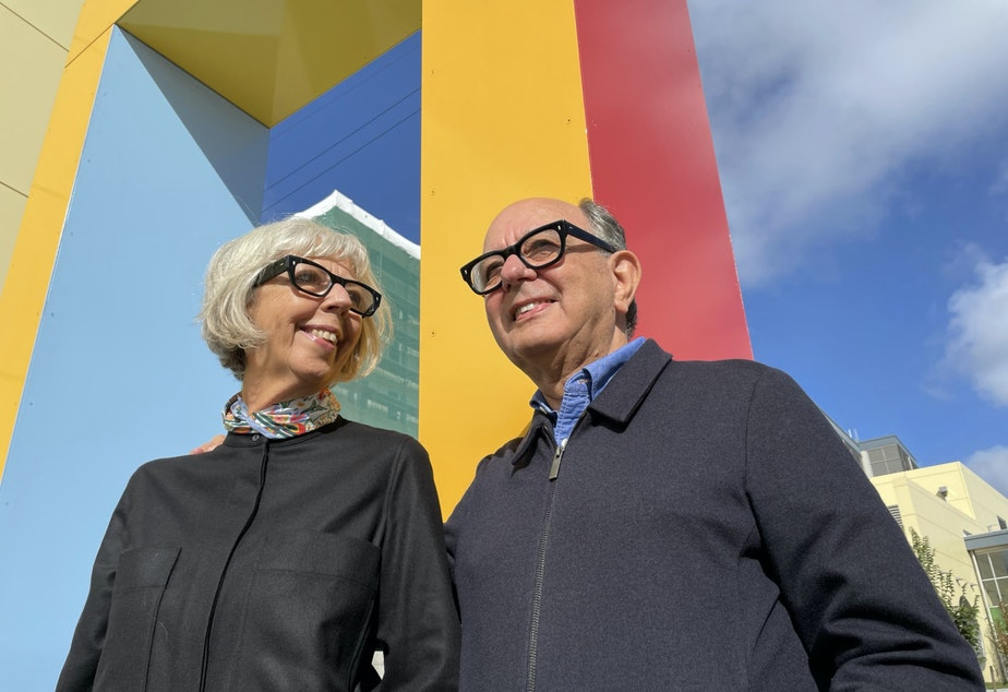 caption: Roberto Behar and Rosario Marquardt of R & R Studios in Seattle's Roosevelt neighborhood