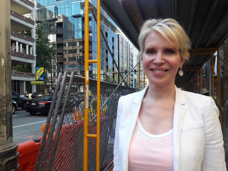 caption: Heather Redman, angel investor with Flying Fish Partners