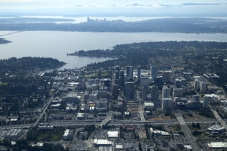 These Bellevue streets could have driver-free van pools driving on them later this year.