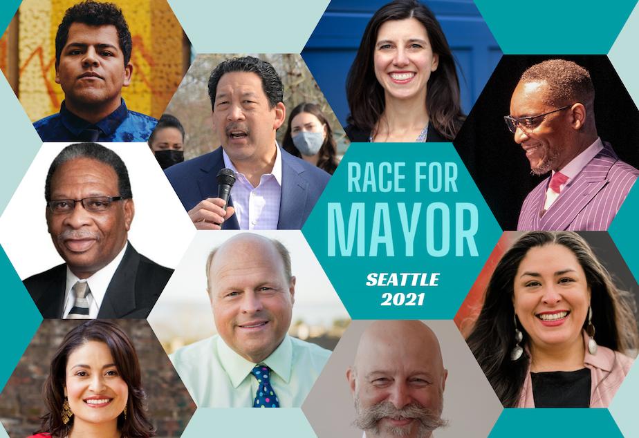 2021 candidates seattle mayor