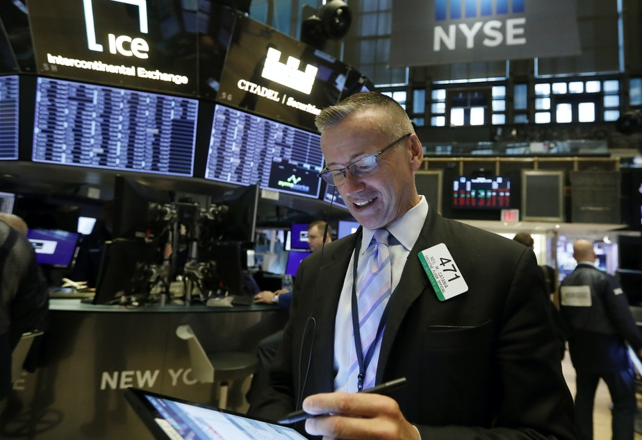 Major U.S. stock indexes were nearly unchanged Thursday, a day after their steepest drops of the year.