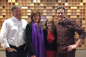 L-R: Mike O'Brien, Susan Hutchison, Joni Balter, Bill Radke