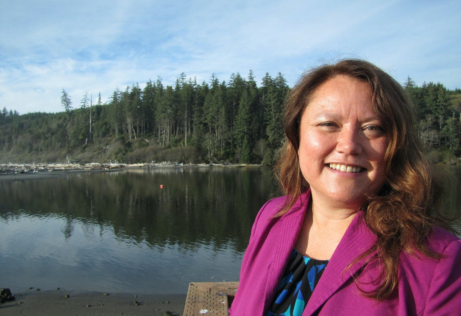 Fawn Sharp, tribal council president of the Quinault Indian Nation, has participated in international climate negotiations in the past, but she says this year she's eager to see where the conversation in Paris goes but won't be signing any international climate deals.