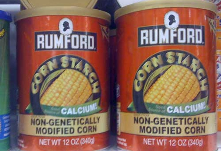caption: Some companies have voluntarily labeled their products as non-GMO, but Washington voters so far have decided against making it mandatory in the state.