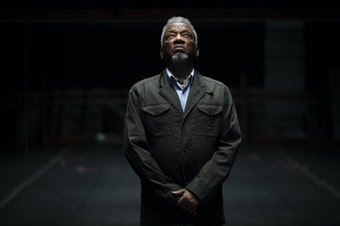 Donald Byrd poses for a portrait on Monday, September 17, 2018, at Spectrum Dance Theater in Seattle.