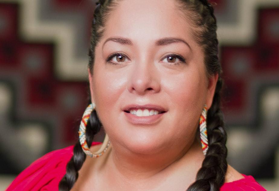 Abigail Echo-Hawk, director of the Urban Indian Health Institute in Seattle