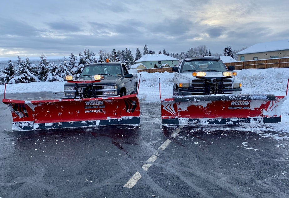 David Holston, a 19-year-old from Idaho, earned $35,000 shoveling snow and slush in Seattle last February. With his earnings, he bought a new truck and plow, and now employs someone to drive the second vehicle.