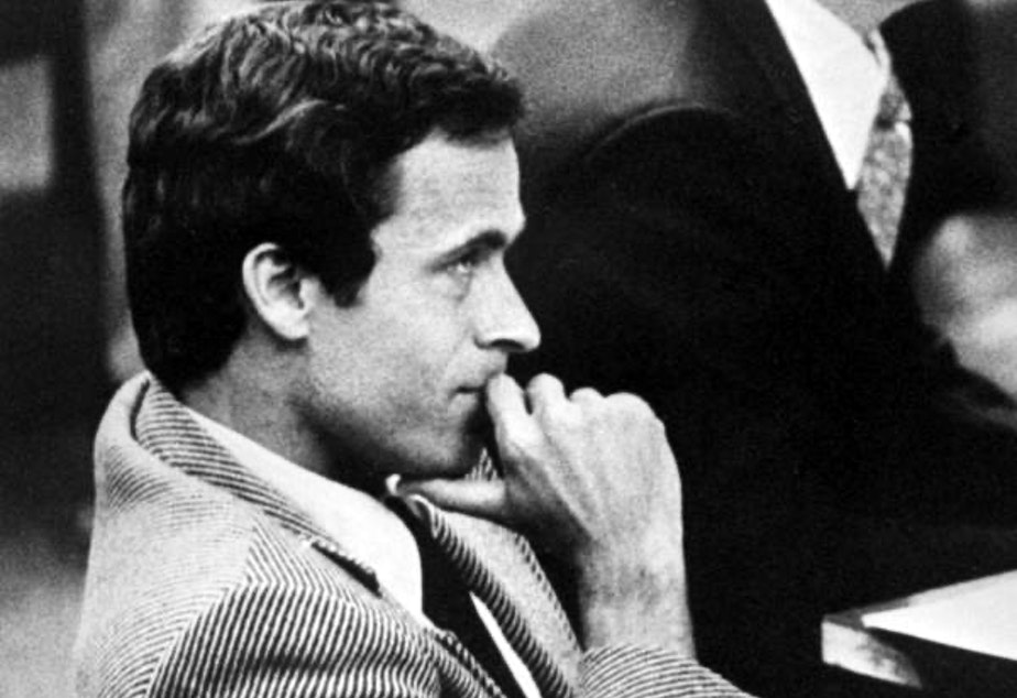 Ted Bundy in court in 1979.