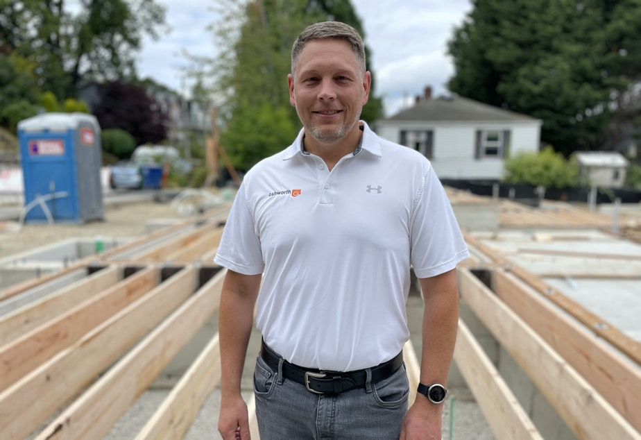 caption: Erich Armbruster of Ashworth Homes.