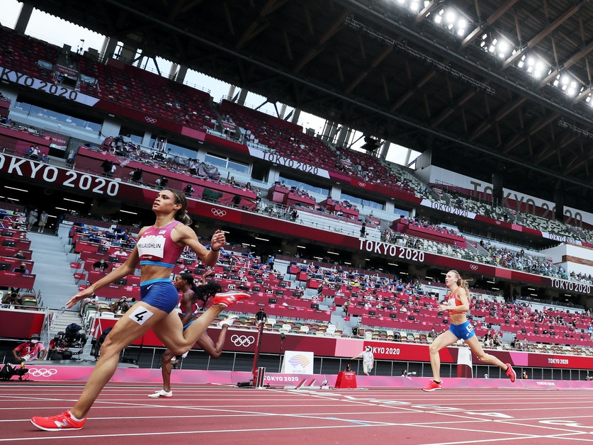 Olympic Runners Are Fast. On Tokyo's Fast Track, They're Shattering World Records - KUOW News and Information