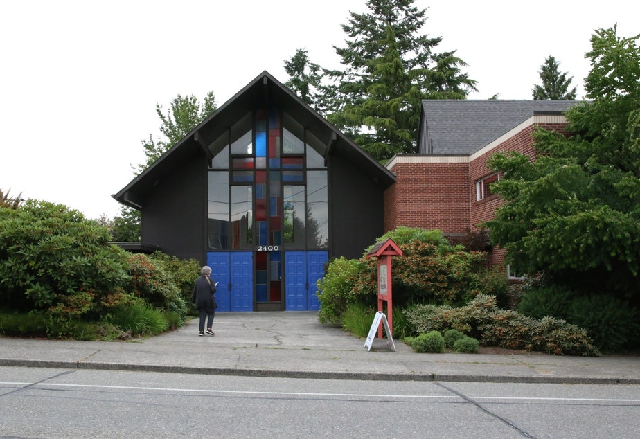 caption: Our Redeemers Lutheran Church in Ballard needs money for seismic upgrades